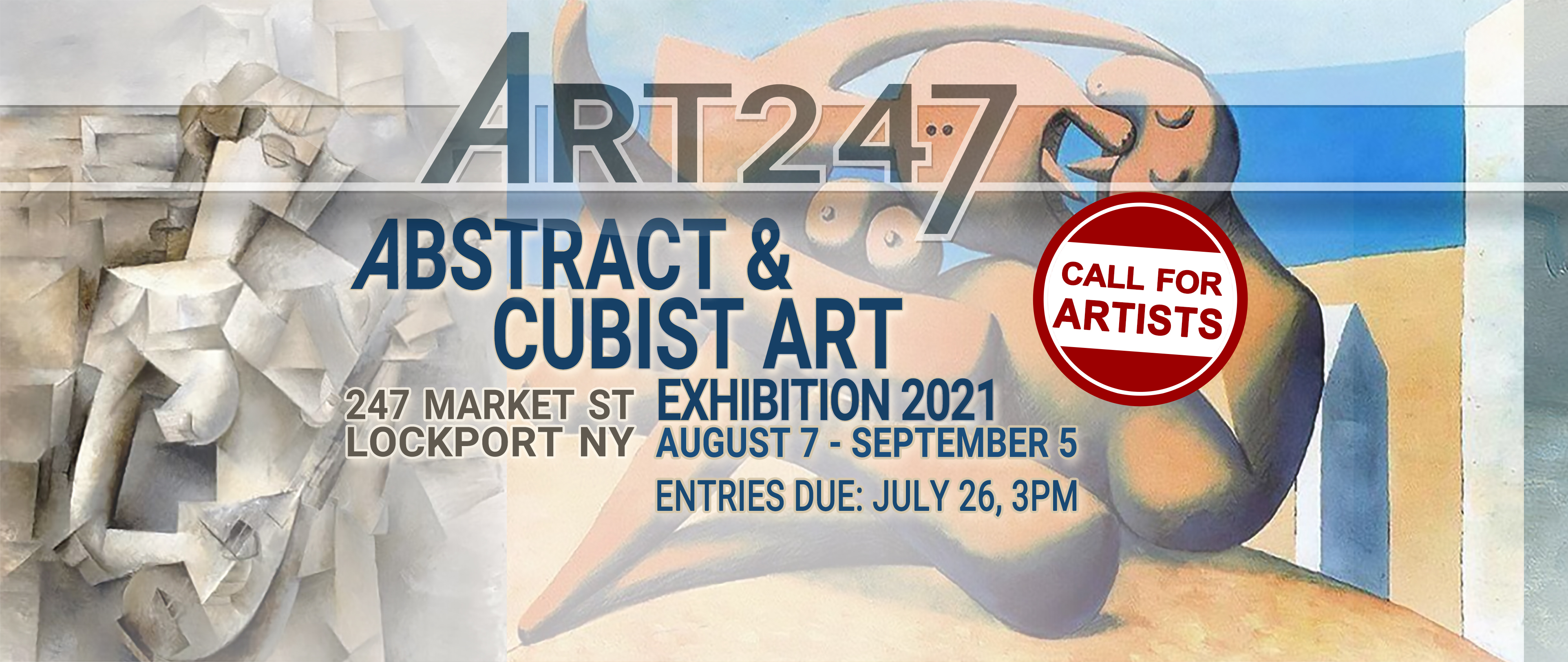 ABSTRACT   CUBISM   Exhibition 2021
