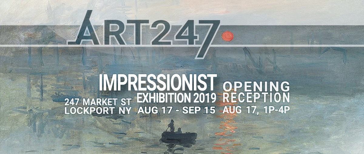 IMPRESSIONIST ART | Exhibition 2019