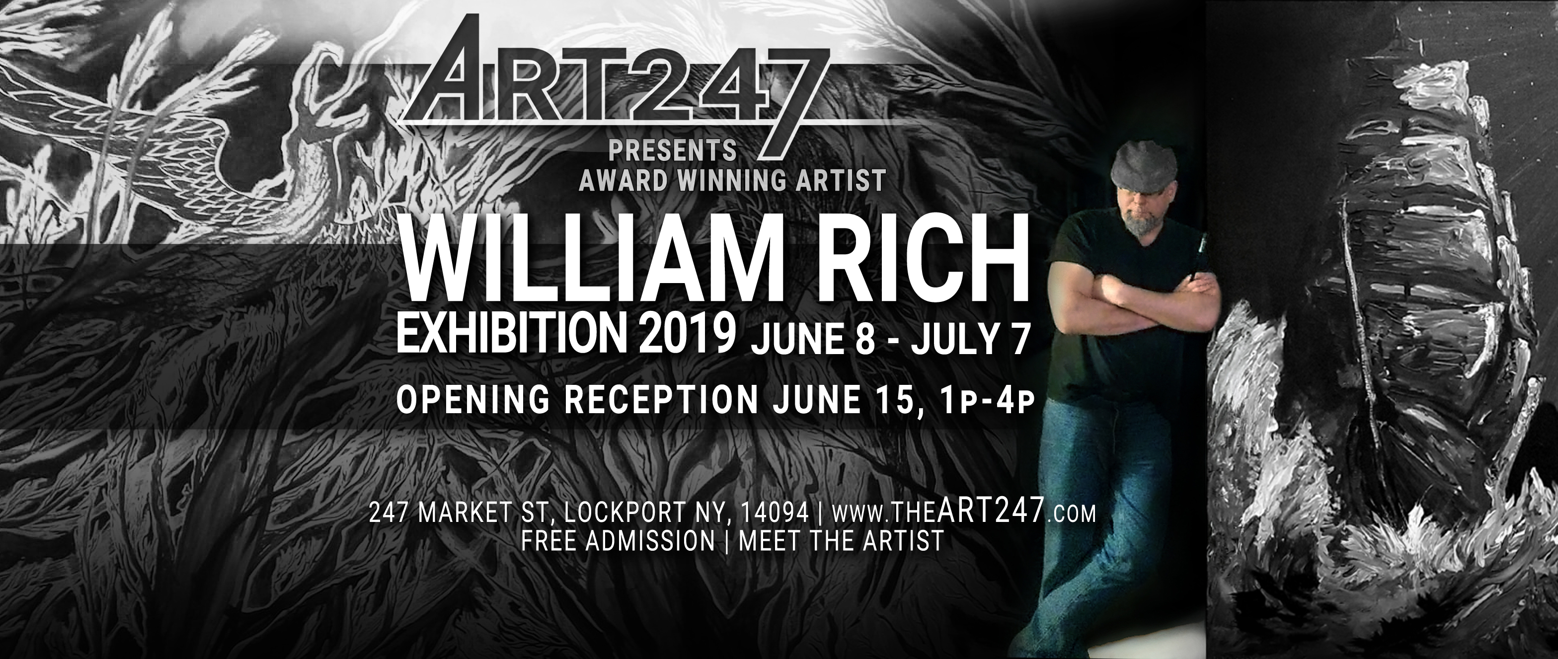 WILLIAM RICH | Exhibition 2019